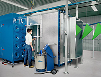 Nordson Vantage RCM Spray Booth